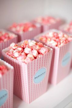 Eating Pink Popcorn is a definite! #PinkParty The best pink party ideas