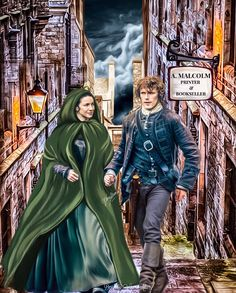 Jamie and Claire voyager