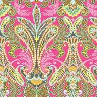 Caravan Dreams Floral in Pink Dragonfly fabric store