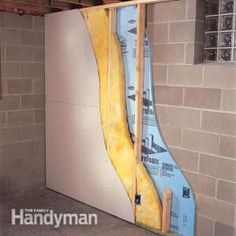 How To Finish A Basement Wall.