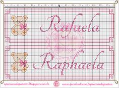 Embroidery Alphabets Bracelets Apaixonada por Ponto Cruz: Motivo Infantil com Nome feminino Embroidery Alphabet, Embroidery Shop, Learn Embroidery, Embroidery Thread, Cross Stitch Embroidery, Embroidery Patterns, Floral Embroidery, Embroidery Floss Bracelets, Book And Magazine