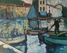 Jean Guindon - Le port de Cassis