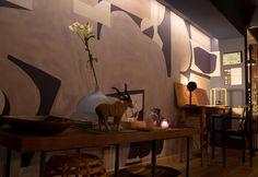 La Casa de Arte y Diseño# revista ayd # hotel boutique interior design project # U Tern# Gaulino Chair #Zinc Design # Liliana Di Lorenzo# Interior Design