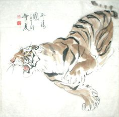 japanese tiger art - Google Search