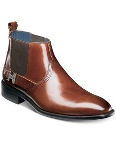 Stacy Adams Men's Joffrey Plain Toe Chelsea Boots - B Mens Boots Fashion, Big Men Fashion, Best Mens Fashion, Men's Fashion, Men S Shoes, Buy Shoes, Girls Shoes, Ladies Shoes, Dress With Boots