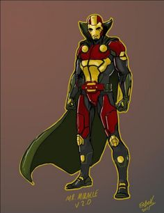"""Mister Miracle redesign by Jason Fabok for """"Justice League"""""""