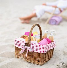 Perfect picnic at the beach