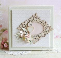 First Communion, Scrapbooking, Frame, Cards, Boxes, Home Decor, Link, Manualidades, First Holy Communion