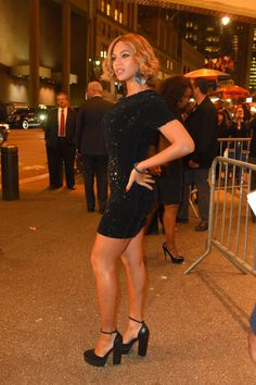 In Topshop at the Topshop/Topman New York City Flagship Opening in 2014. See all of Beyoncé's best looks.