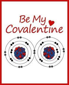 Happy Covalentine's Day, Science Girls!