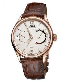 オリス キャリバー111 111 7700 6061F(茶) 腕時計 メンズ 手巻き Oris Calibre111 - IDEAL