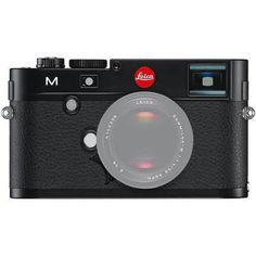 Leica M Digital Rangefinder Camera Body (Black)