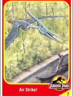 Jurassic Park Trading Cards Michael Crichton, Jurassic Park Book, Jurassic World Characters, Paco Ortega, Thriller, Science Fiction, World Movies, The Lost World, Dinosaur Art