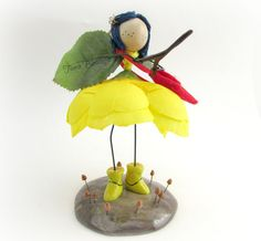 Hey, I found this really awesome Etsy listing at https://www.etsy.com/listing/243001520/coraline-doll-coraline-figurine-fairy