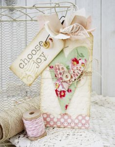 Sizzix Inspiration | Embellished Tags by Melissa Phillips