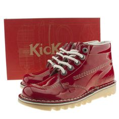 e9ee14e9 Women's Red Kickers Kick Hi Iii at schuh - pin me if I'm your