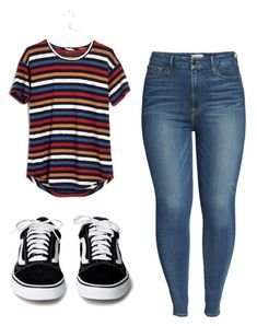 """Untitled #9"" by torimiller-ii on Polyvore featuring Madewell and Good American"
