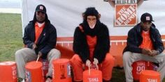 This Photo Has Home Depot Scrambling To Apologize.. (Nothing Racist about this Stupid Photo) Home Depot Needs To Rehire the Fired Employee..Times are Hard..Everyone Needs their job! Most people were Not offended and like me..Did Not see Any Racism..Smh!!*