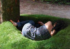 Nid de pelouse, de Marion Robert #MarionRobert #garden #landart