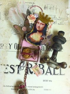 Shabby Altered Mouse Trap