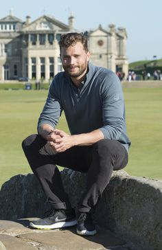 Jamie Dornan - Alfred Dunhill Links Championship - Round 1 (October 1st 2015)