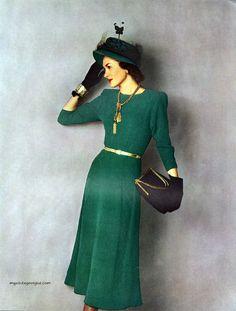 Columbia Hand Knit Fashions 1948, photo by Conant-Bradley
