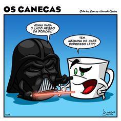 Café, o lado negro da força...