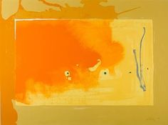 A Green Thought in a Green Shade, 1981 by Helen Frankenthaler. Abstract Expressionism, Lyrical Abstraction. abstract