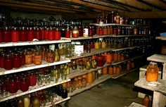Amish homes, and Old Order Mennonite homes like this one belonging to ...  ~ Amish Home Inside ~ Sarah's Country Kitchen ~