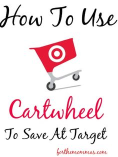 Do you frequently shop at Target? Check out how you can save without clipping coupons! The Cartwheel app is easy to use and can save you up to 50% on some products at Target!