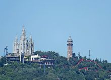 I've never been to this place in Barcelona, but it's apparently incredible. Tibidabo - Wikipedia, the free encyclopedia