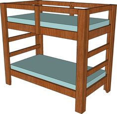 UPDATE: This is one piece of an entire bedroom set. If you are interested in the entire set CLICK HERE. I've built a lot of these bunk beds in the past and recently built one for my own home.…