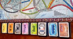 Ticket to Ride card tray/holder