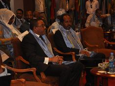 Prime Minister Hailemariam and President Hassan Sheikh Mohamud of Somalia at Tana High Level Forum. Prime Minister, High Level, Crime, Presidents, Africa, Crime Comics, Afro, Fracture Mechanics