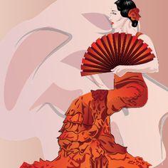 El abanico, un complemento muy flamenco