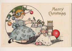 Children At Christmas, card illustrated by Margaret Evans Price (photo taken by snap713, via Flickr)