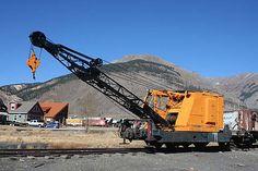 Surviving Railway Steam Cranes of North America Pile Driver, Bucyrus Erie, Klamath Falls, Work Train, Root Cellar, Railway Museum, Train Pictures, New York Central, Snow Plow