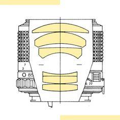 MINOLTA 85mm 1:2 (6 Linsen / 5 Glieder) Fassungen: MD-II (1979), MD-III (1981)