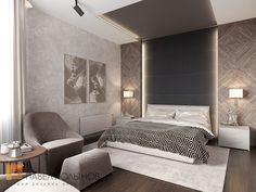 Фото интерьер спальни из проекта «Пятикомнатная квартира в стиле минимализм, ЖК «Классика», 208 кв.м.»