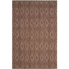 Courtyard Brown 4 ft. x 5 ft. 7 in. Indoor/Outdoor Rectangle Area Rug