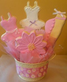 ballet cookie bouquet