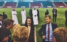 Danish Crown Prince Couple's three days visit to Qatar started. Crown Prince Frederik of Denmark and his wife Princess Mary finished their Saudi Arabia visit and in the evening, they arrived at Qatar together with the Trade mission. The Royal Couple visited Aspire Academy founded in 2004 which is one of the World's leading sports academies for children and teenagers today. Qatar visit is made for the purpose of ensuring a strong cooperation between Danish and Qatari private companies…