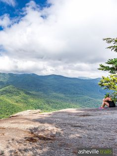 Catch stunning summit views from the Looking Glass Rock Trail near Brevard, NC