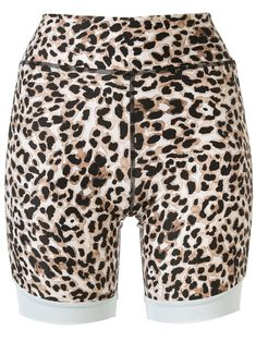 The Upside Water Leopard cycling shorts - Multicolour The Upside, Moka, Cycling Shorts, World Of Fashion, Patterned Shorts, Miss Selfridge, Size Clothing, Farmer, Tommy Hilfiger