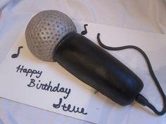 Karaoke microphone cake http://www.youtube.com/watch?v=SnOJjgsvGsE