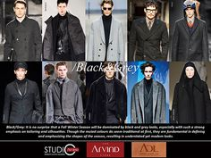 GARMENT TREND - AUTUMN WINTER 2014/15 FOR MEN'S WEAR