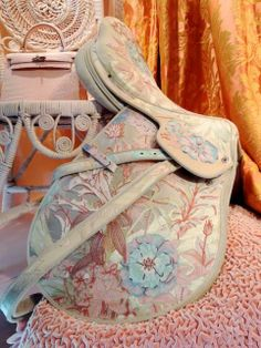 MaiTai's Picture Book: Hermès Paris - embellished saddle---now that would make me want to ride horseback