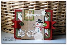 Card created by Cari Locken using Handmade Holiday.