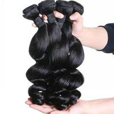 100% Pure 8A Grade Loose Wave Virgin Unprocessed Indian Hair