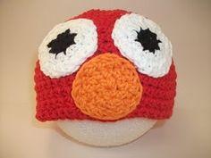 Elmo & Cookie Monster Hats